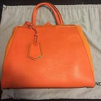 Fendi 2jours Medium Orange Photo