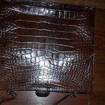 Fendi Alligator Crocodile Vintage 70's Hanbag Photo