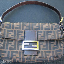 Fendi Authentic Brown  Bagette  Photo