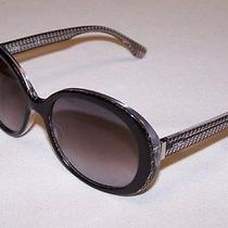 Fendi Authentic Sunglasses Ff0001/s Ff 0001/s 6zv/eu Black Crystal Grey Gradient Photo