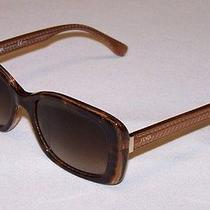 Fendi Authentic Sunglasses Ff0002/s Ff 0002/s 7pl/ha Havana Burgundy Brown New Photo