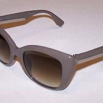 Fendi Authentic Sunglasses Ff0019/s Ff 0019/s 6qx/db Mud Brown Grey Gradient New Photo