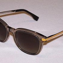 Fendi Authentic Sunglasses Ff0021/s Ff 0021/s 7uq/ha Mud Brown Gradient New Photo