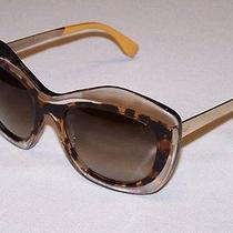 Fendi Authentic Sunglasses Ff0029/s Ff 0029/s 7nq/ha Crystal Havana Brown New Photo