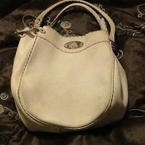 Fendi Bag Selleria Purse White Leather Hobo Photo