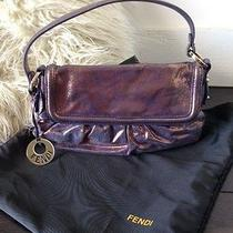 Fendi Baguette in Metallic Photo