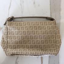 Fendi Beige Canvas Handbag Photo