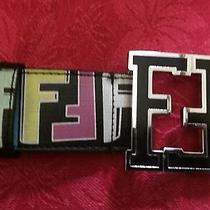 Fendi Belt Colorful College Fendi Belt Size  Photo