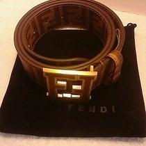Fendi Belt Mans Size 41-42 Photo