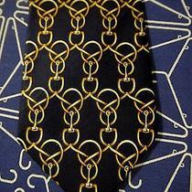 Fendi Black & Gold Tie Photo