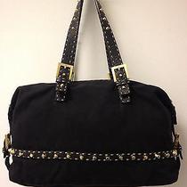 Fendi Black  Handbag Rare Authentic Photo