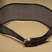 Fendi Black Patent Leather Belt Small Photo