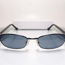 Fendi Blue Black Stylish Rectangle Italian Designer Sunglasses Mens Womens Italy Photo