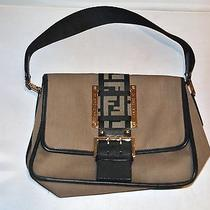 Fendi Borsa Tape Shoulder Bag/ Handbag Very Rare Photo