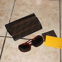 Fendi Brown Frame Sunglasses Photo