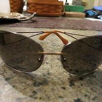 Fendi Brown & Gold Sunglasses Photo