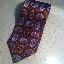 Fendi Brown Neck Tie Cravatte Pure Silk Made in Italy Photo