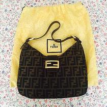 Fendi Brown Zucca Handbag Photo