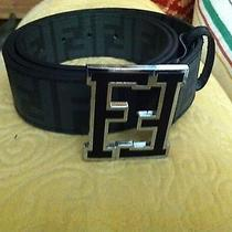 Fendi College Belt Size 46/115 Used Great Condition  Photo