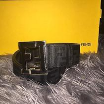 Fendi College Zucca Belt Photo