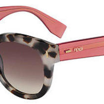 Fendi Color Block Ff 0026/s (7oq/oh) 50-22-140 Original Sunglasses Photo