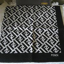 Fendi Cotton Neck Scarf Photo