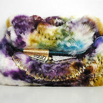 Fendi Crystal Trim Chinchilla Fur Handbag Clutch (Never Worn) Photo