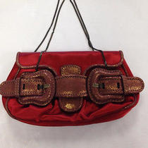 Fendi Dark Red Clutch Photo