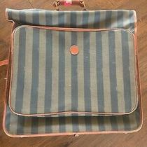 Fendi Dress Bag  Luggage Striped Vintage 90s Photo