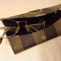 Fendi Eyeglasses Havana Antique Bronze Photo