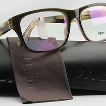 Fendi F1026 Eyeglasses Green/other (317) 53mm Authentic Made in Italy Photo
