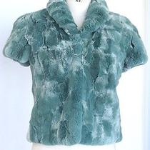 Fendi Fabulous Orylag (European Bunny Rabbit) Jacket 6 Mint Photo