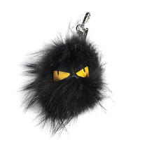 Fendi Fox Fur Monster Bag Charm Key Holder Key Ring Photo