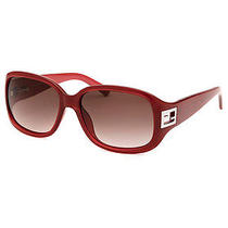 Fendi Fs5205-604-56-16 Women's Rectangle Red Sunglasses Photo