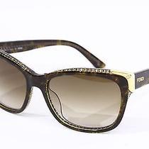 Fendi Fs5212 Black  Gray Lens Sunglasses Logo Mark Frame Photo