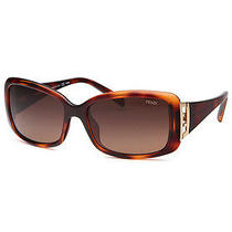 Fendi Fs5291-238-56-16-130 Women's Rectangle Tortoise Sunglasses Photo