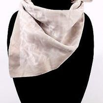 Fendi - Gray Cotton Scarf   Photo