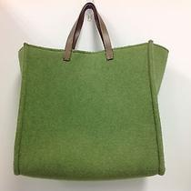 Fendi Green Felt Tote Photo