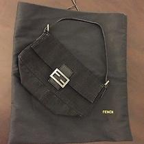 Fendi Handbag - Black With Silver Hardware Photo