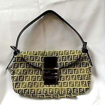 Fendi Handbag Iconic Material and Cert of Authenticity  Photo