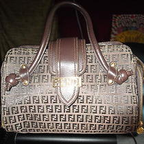 Fendi Handbag Medium Brown Photo