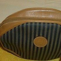 Fendi Handbag Purse Authentic  Brown Tan  Euc Photo