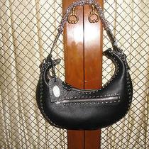 Fendi Handbag  Purse Black Mint  100% Authentic Photo