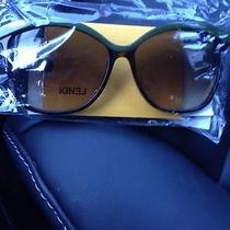 Fendi Havana Green Sunglasses Photo