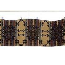 Fendi Italy Long Native Indian Design Acrylic Wrap Shawl Scarf Photo