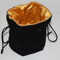 Fendi Jewelry Bag Bijoux  Black & Gold Tone  Great Condition  Photo