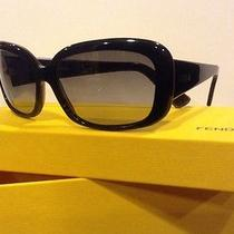 Fendi Ladies Sunglasses Fs347 Black Case Included Nib Photo