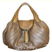 Fendi Leather Metallic Spy Bag Photo