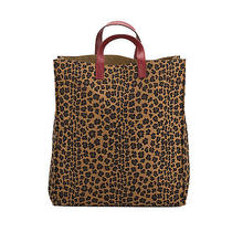 Fendi Leopard Shopping Tote Bag (Authentic Pre Owned) Photo
