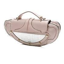 Fendi Light Pink Nappa Leather Vanity Clutch Bag Photo